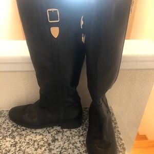 Women's Coach Eason Wide Calf Dress  Riding Boots